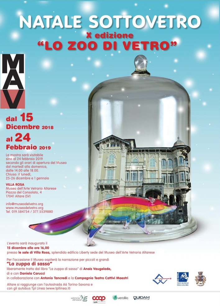 """Inaugurazione mostra """"Natale SottoVetro. Lo zoo di vetro"""""""