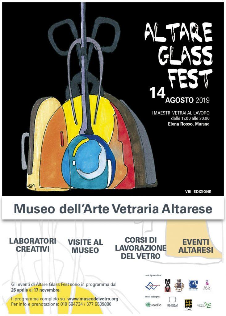 Il 14 agosto 2019 torna Altare Glass Fest!