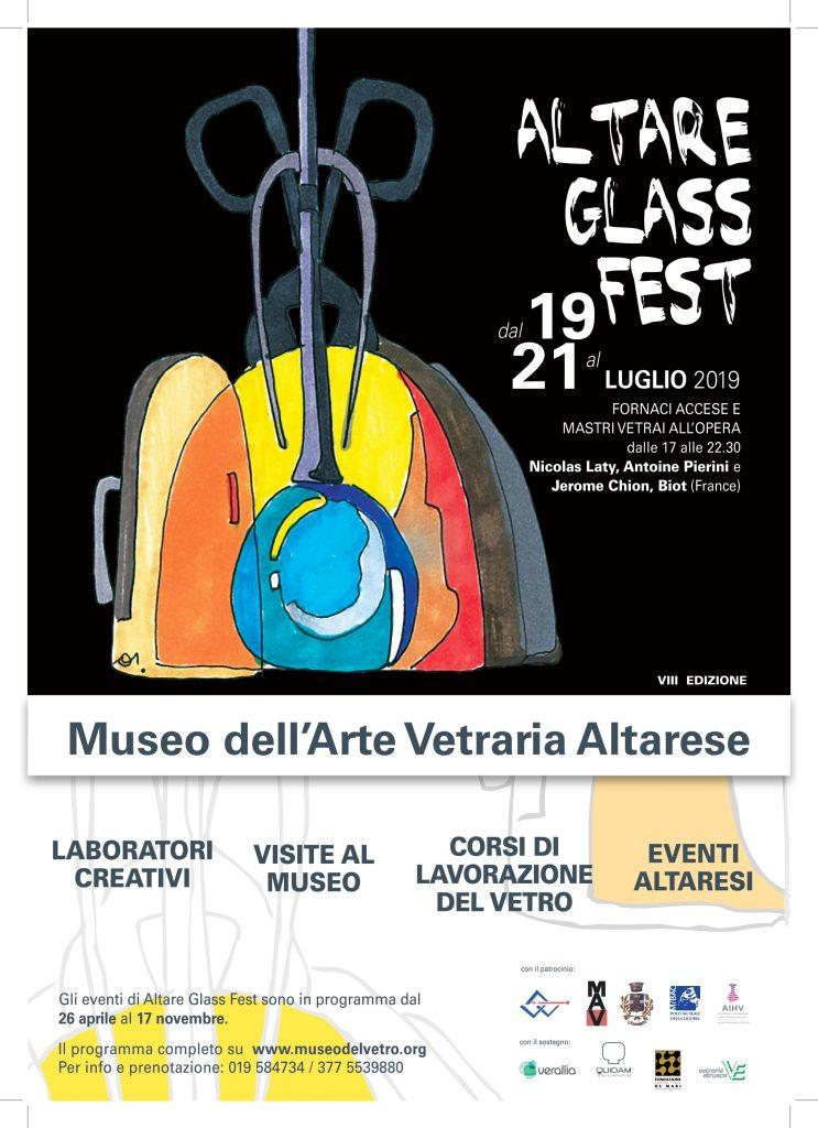 Dal 19 al 21 luglio 2019 torna Altare Glass Fest!